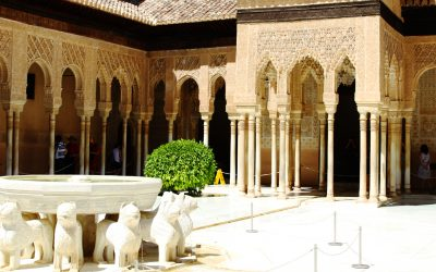 We continue the study of the columns of the Courtyard of the Lions of the Alhambra