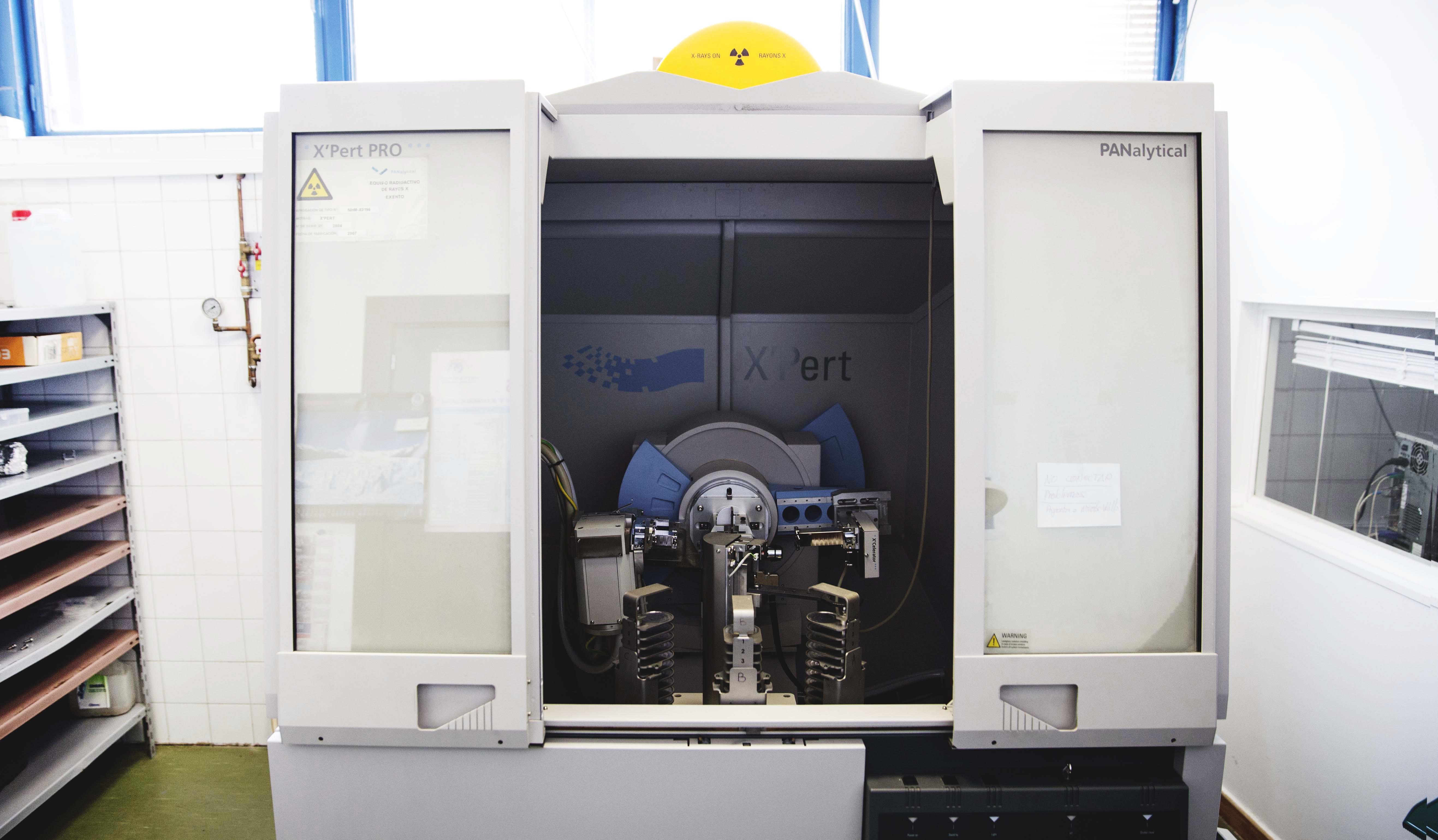 Laboratorio Difractómetro de rayos X