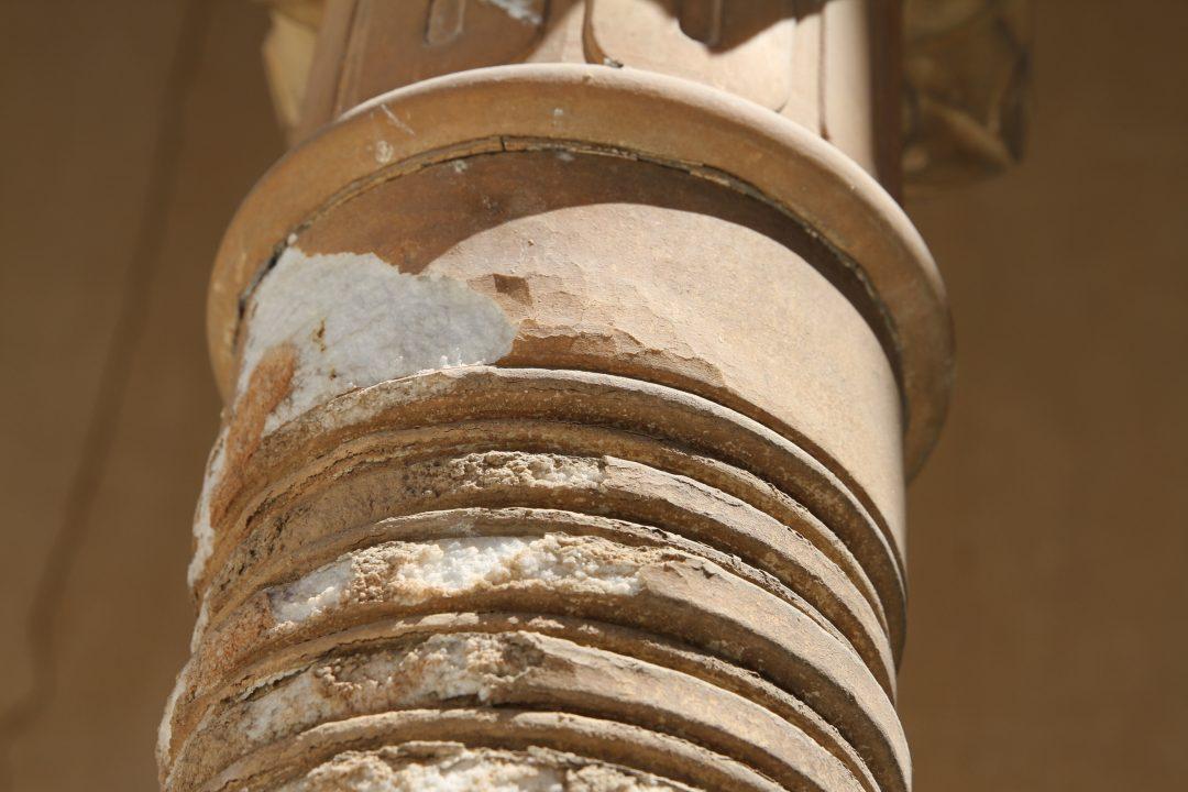 Columnas Patio Leones 3