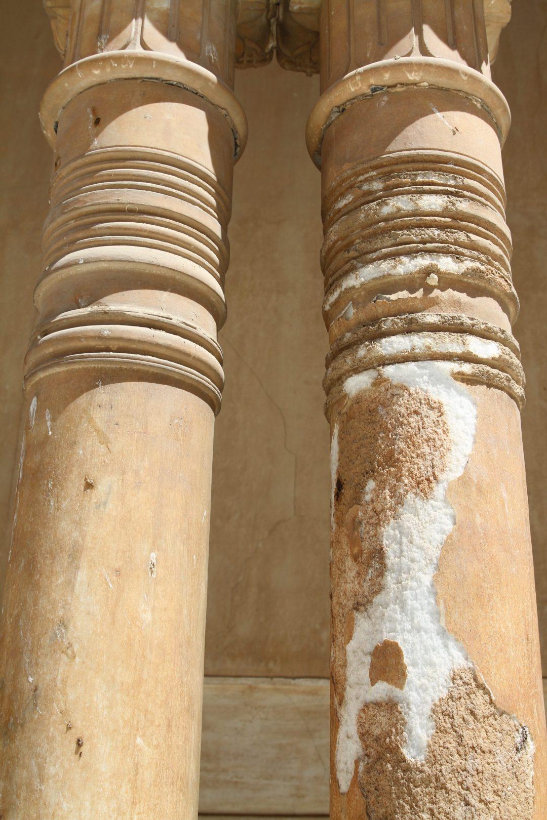 Columnas Patio Leones 1