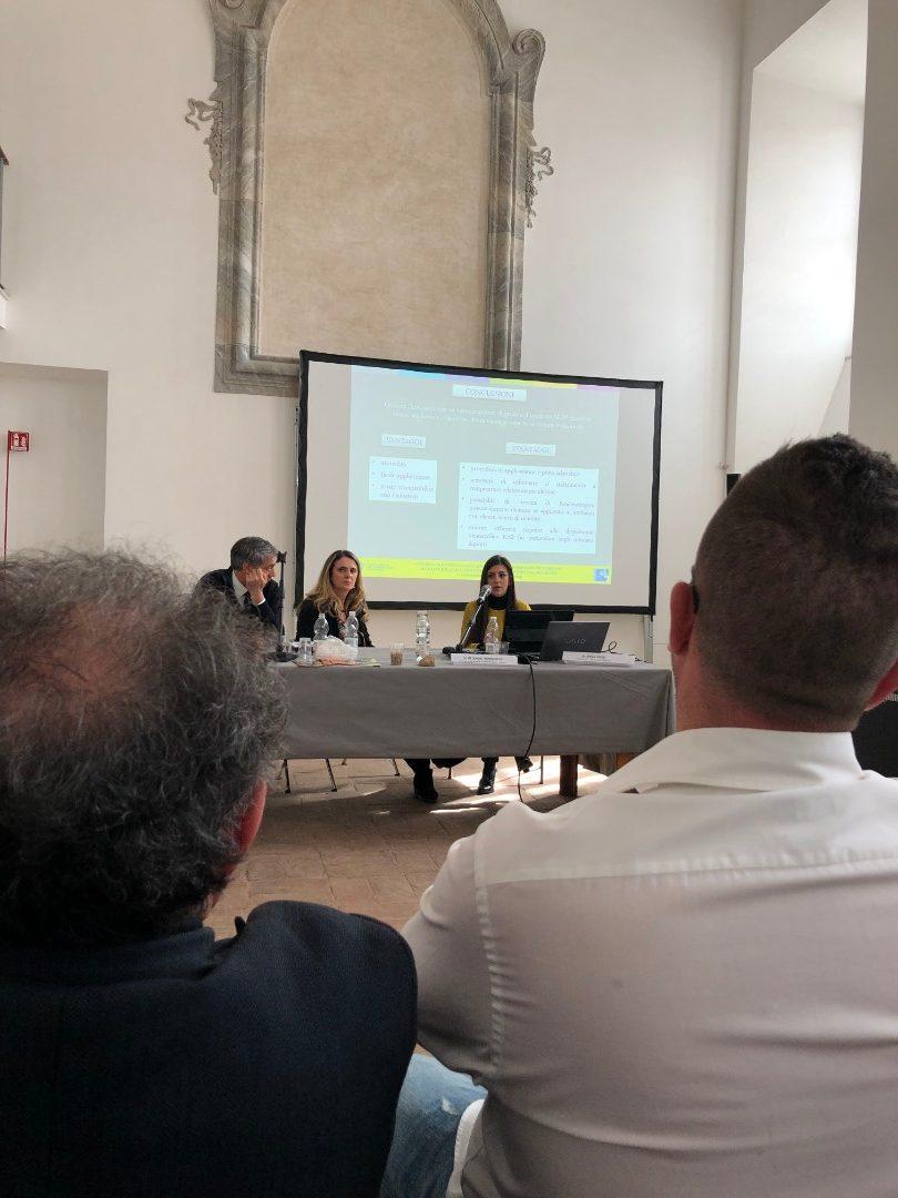 Carla Giovannone e Marco Bartolini (ISCR) - Esperienze di bio-consolidamento su materiali lapidei artificiali (2)