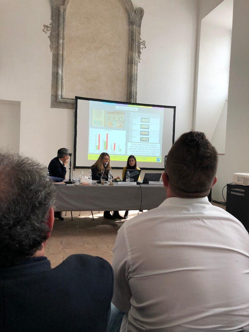 Carla Giovannone e Marco Bartolini (ISCR) - Esperienze di bio-consolidamento su materiali lapidei artificiali (3)