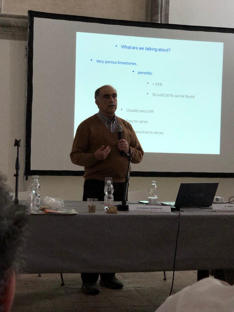 Delgado Rodrigues (LNEC) - Il problema del consolidamento calcari porosi; un'analisi metodologica della cuestione