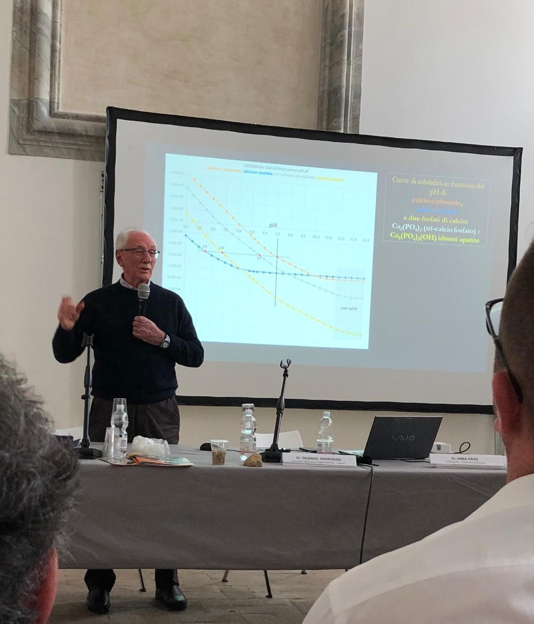 Mauro Matteini (Università di Firenze) - Soluzioni inorganiche; trattamenti nella pratica nei cantieri (fosfato e ossalto) (1)