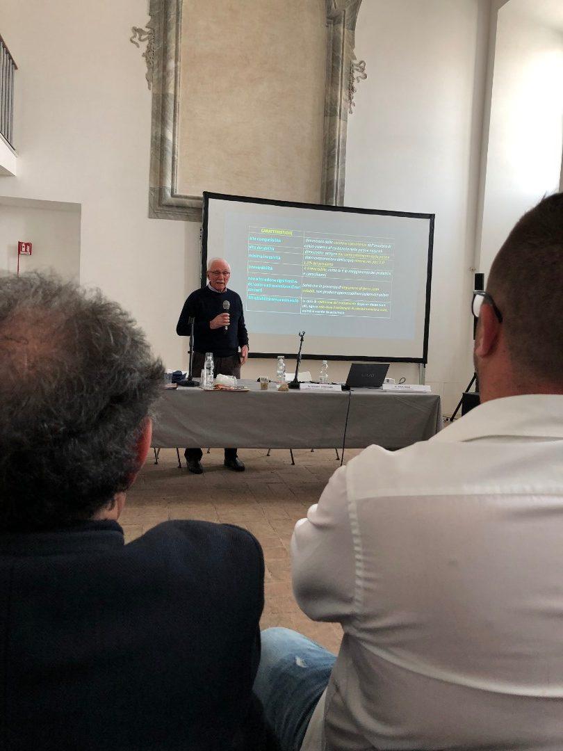 Mauro Matteini (Università di Firenze) - Soluzioni inorganiche; trattamenti nella pratica nei cantieri (fosfato e ossalto) (2)