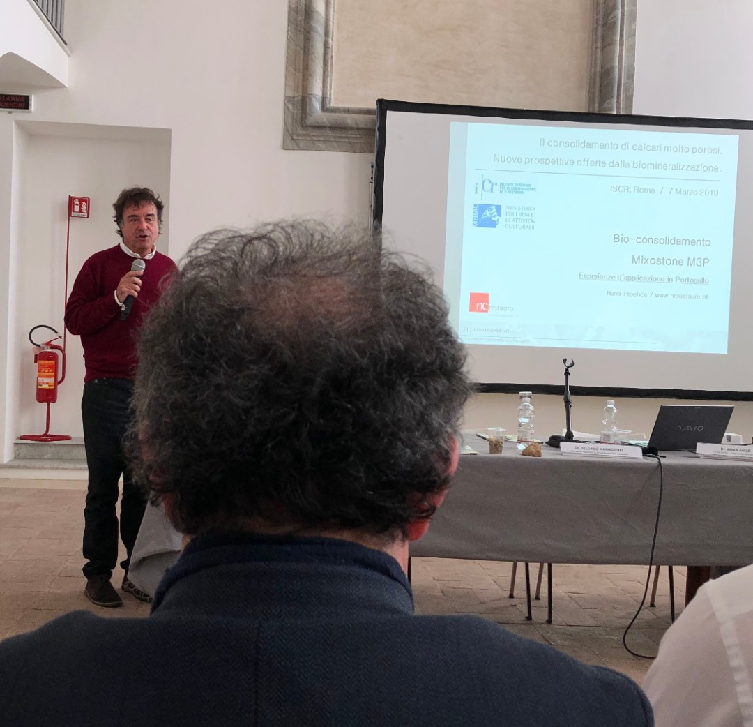 Nuno Proença (NCRestauro) - Esperienze di bio-consolidamento in Portogallo (1)