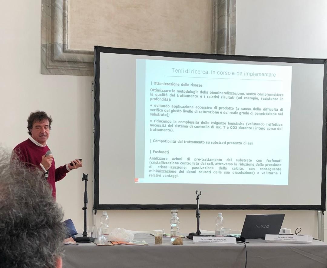 Nuno Proença (NCRestauro) - Esperienze di bio-consolidamento in Portogallo (2)